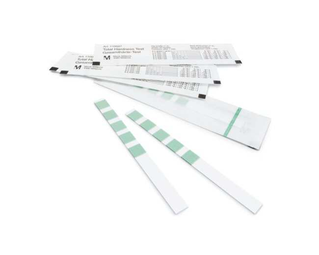 MilliporeSigma MQuant Total Hardness Test Strips :Testing